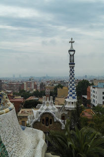 Park Guell in Barcelona, Spain von stephiii