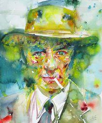 ROBERT OPPENHEIMER - watercolor portrait von lautir