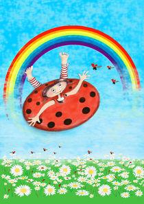 Tünchen fliegt zum Regenbogen von Kiki de Kock