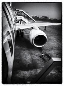 Flughafen Kathmandu von Helge Lehmann