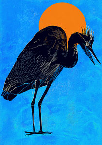 Heron by David Bushell