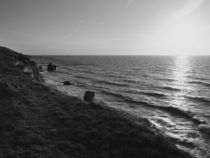 Sonnenuntergang an der Steilküste in Ahrenshoop by dresdner