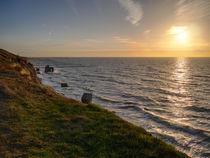 Sonnenuntergang an der Steilküste in Ahrenshoop von dresdner