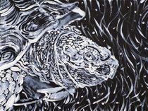 PORTRAIT OF A TURTLE von lautir