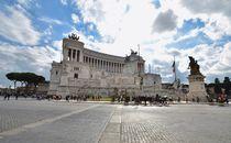 Monumento a Vittorio Emanuele II Rom Schreibmaschine von schumacherfilm