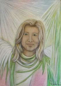 Erzengel Raphael von Marija Di Matteo