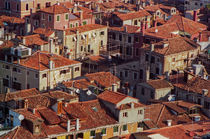 Venice Rooftops by David Halperin