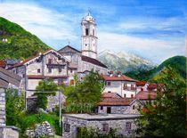 Livo, Bergdörfchen oberhalb Comersee (Italien) von Elisabeth Maier