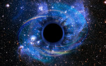 Deep Black Hole, Like an Eye in the Sky by maxal-tamor