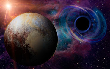 Black-hole-pluto