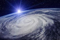 Huge Cyclone Due to the Global Warming by maxal-tamor