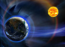 Earth and the Sun by maxal-tamor