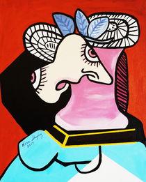 'I LOST MY HEAD  PICASSO' von Nora Shepley