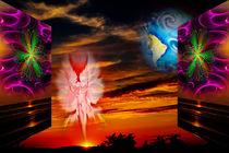 Himmlische Erscheinung 7 by Walter Zettl
