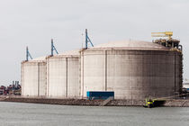 LNG Tanks by Irene Hoekstra
