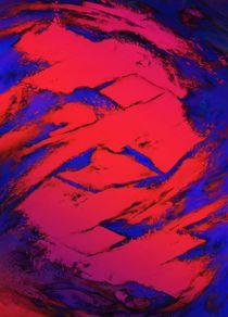 Fractured anger red von Keith Mills
