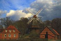 Mühle an der Mittelweser! by Heinz E. Hornecker
