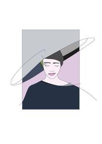 Blu Dame by Iri Kirova