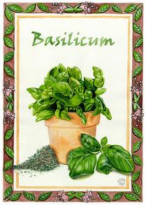 Basilicum (Basil) by Colette van der Wal