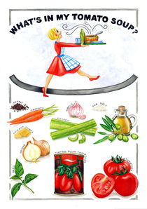 What's in my Tomato Soup? von Colette van der Wal