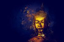 Golden Buddha Painting N.1 von oliverp-art