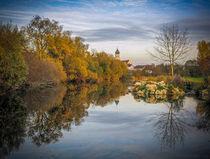 'Die Donau bei Laiz' von Christine Horn