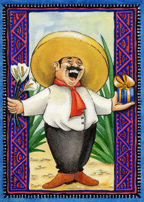 Happy Mariachi by Colette van der Wal