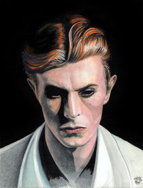BOWIE - The Thin White Duke von Colette van der Wal