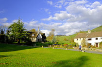 Ilam Primary School and Cottages von Rod Johnson
