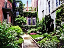 Boston MA - Hidden Garden by Susan Savad