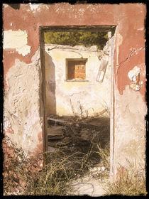 A ruin doors by Gordan Bakovic