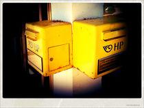 Yellow boxes von Gordan Bakovic