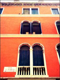 Windows in the red by Gordan Bakovic
