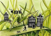 The Green Grass of Home #1 by Colette van der Wal
