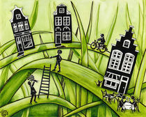 The Green Grass of Home #3 by Colette van der Wal