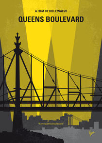 No776 My Queens Boulevard minimal movie poster by chungkong