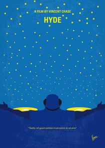 No777 My HYDE minimal movie poster by chungkong