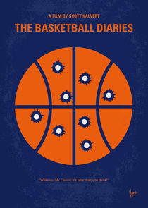 No782 My The Basketball Diaries minimal movie poster von chungkong