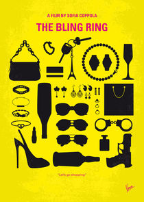 No784 My The Bling Ring minimal movie poster von chungkong