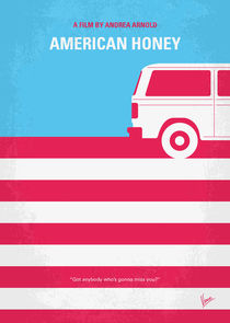 No786 My American Honey minimal movie poster by chungkong