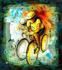 'Cycling Madness 01' von Miki de Goodaboom