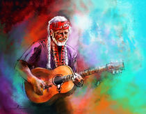 Willie Nelson 01 von Miki de Goodaboom