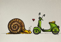slug in love (spring time - part 8) by danielaschlechmair