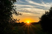 Sonnenuntergang am Heupfad by Ronald Nickel