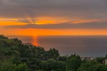 Sonnenuntergang in Kalabrien, Italien von globusbummler
