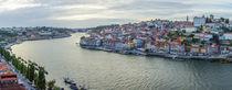 Porto Panorama, Rio Douro von globusbummler