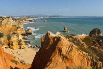 Strand an der Algarve, Portugal von globusbummler