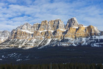 Castle Mountain Kanada Rocky Mountains von globusbummler