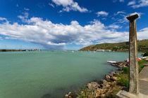Regenschauer über Oamaru, Neuseeland von globusbummler