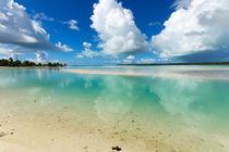Lagune von Aitutaki, Cook Islands, Südsee von globusbummler